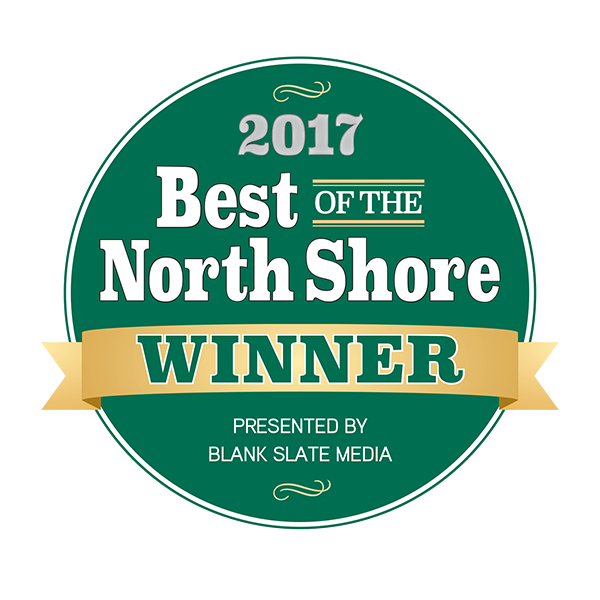 2017 Best of the North Shore Winner .