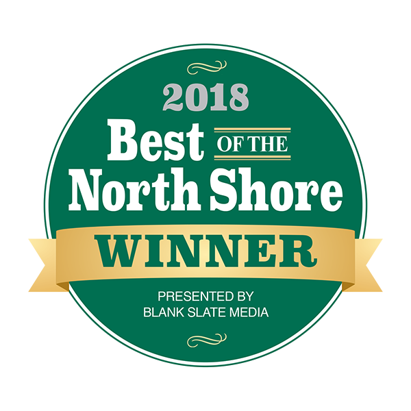 2018 Best of the North Shore Winner .
