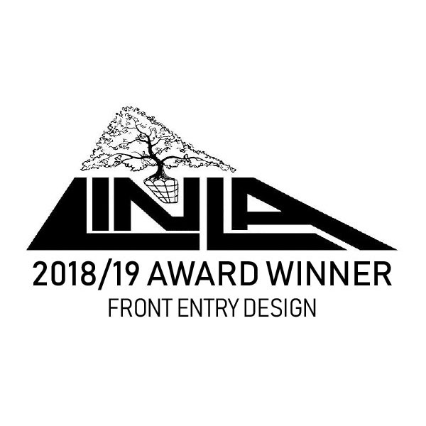 Linla 2018/2019 Award Winner Icon for Front Entry Design