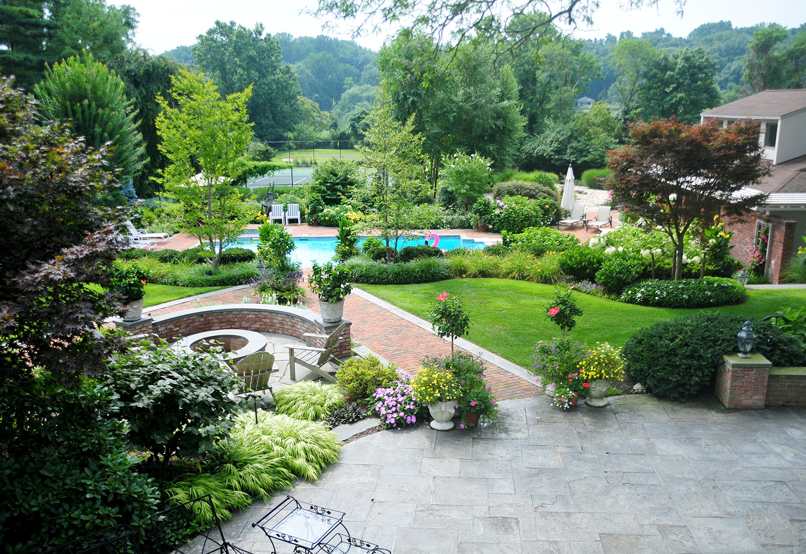 Long Island Landscaping Services Pool and Spa, Masonry