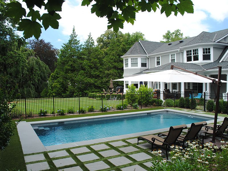 Landscape Design and Pool Hicks Nurseries New York