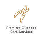 Gold Extended Care Service Icon
