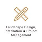 Landscape Design Gold Ruler Icon