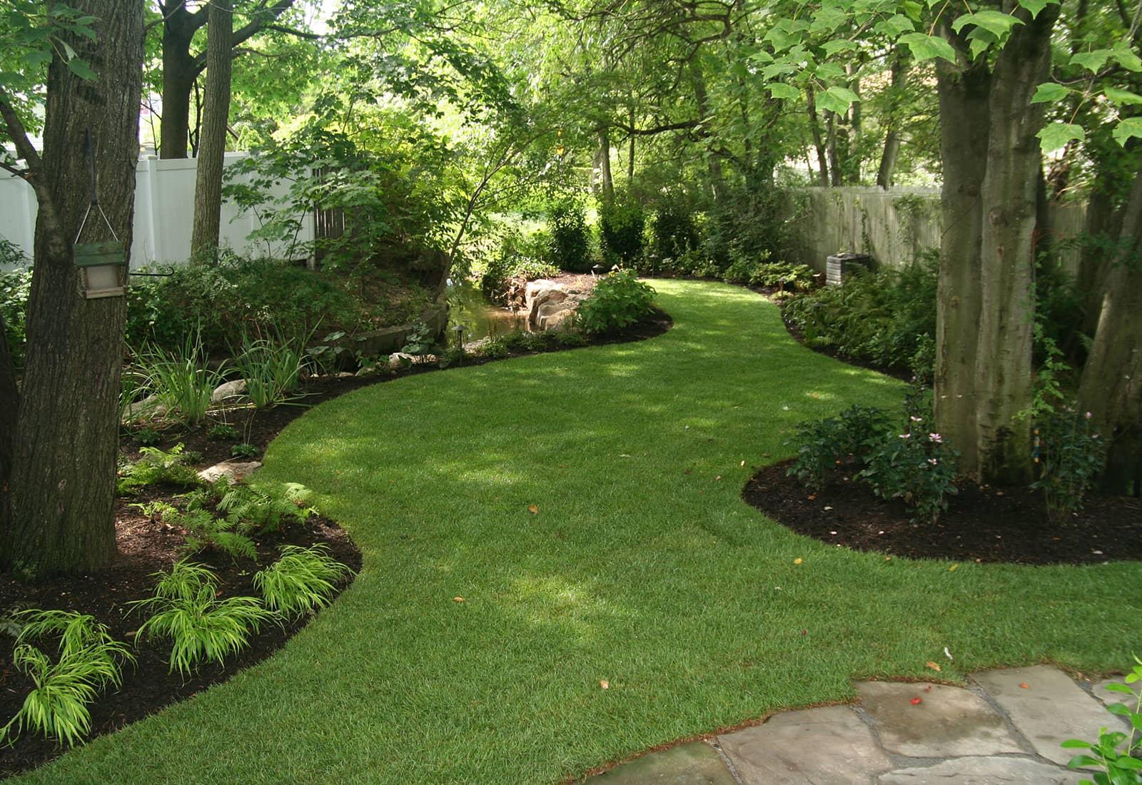 Shaded Perennial Gardens